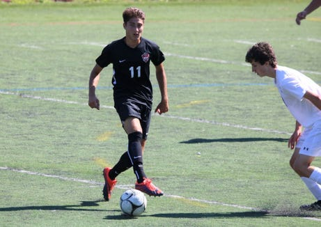 Kevin Abbondanza was a big part of a playoff run that ended in the Class A semifinals, finishing with 12 goals and 11 assists for Rye.