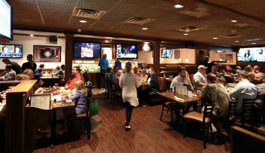 Stanley's Tavern is ready for the football season after revamping several features, from the kitchen to the saloon bar. Additional televisions are squeezed onto the walls, bringing the total in the building to more than 40.