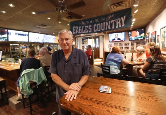 Steve Torpey of Stanley's Tavern has seen a lot of changes at the landmark bar and restaurant since he was an employee in the 1970s before returning as the owner since the 1980s. One thing hasn't changed — you're still in Eagles Country here.