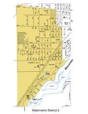 Aldermanic District 2 in Wisconsin Rapids.