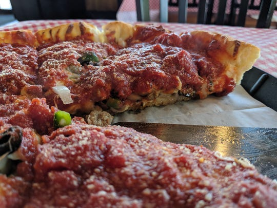 A classic Big Jim at Chicago Pizza Kitchen.