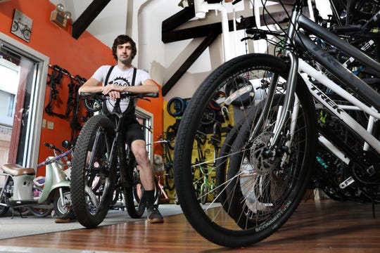 Anson Brooks' love to bikes started at a young age, and paved the way for Three Sixty Bike Shop in downtown Zanesville.