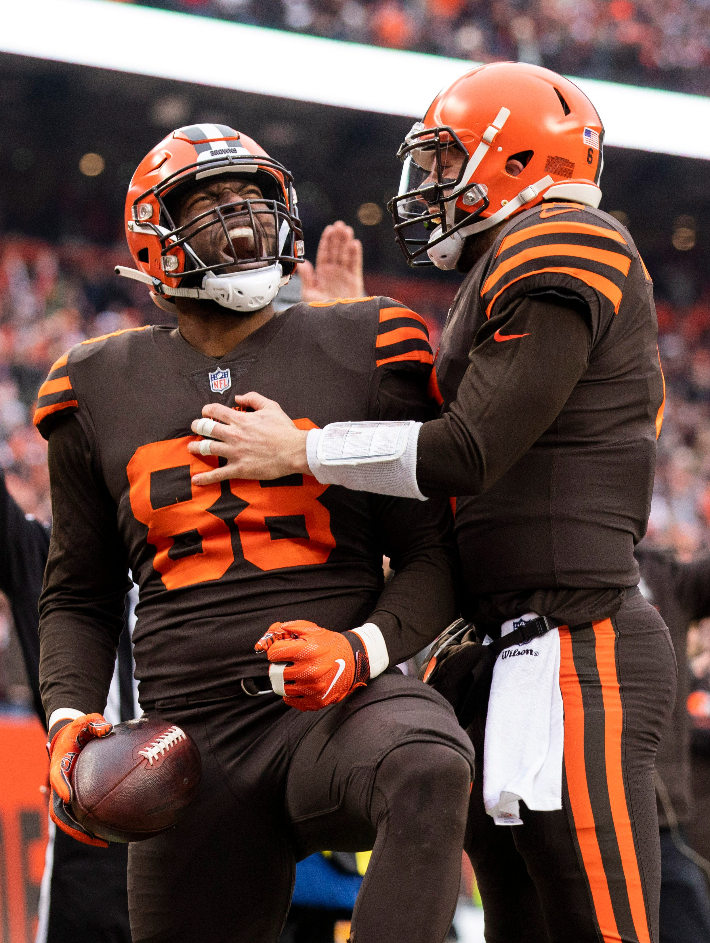 Cleveland Browns make Color Rush jerseys their primary uniform after petitioning NFL thumbnail