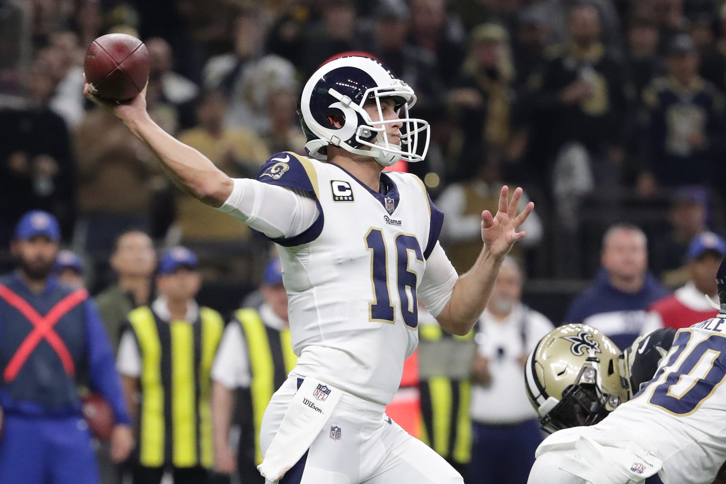 Rams, Jared Goff agree to 4-year contract extension with record $110 million in guarantees
