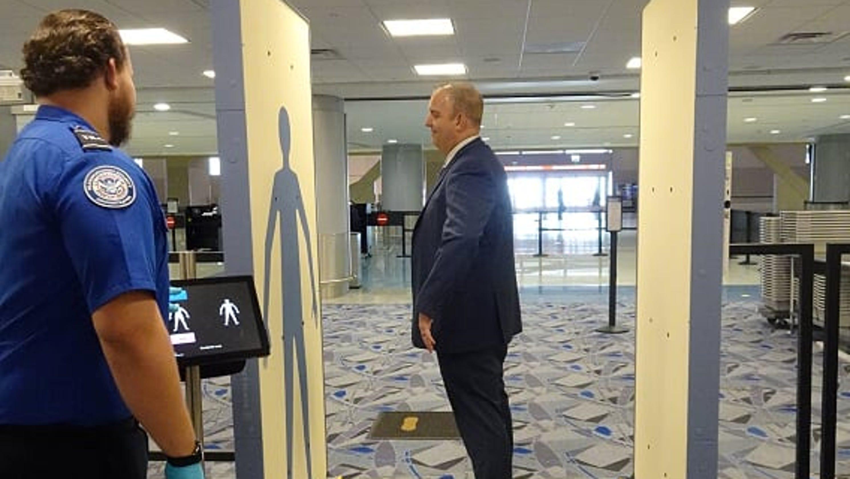 Kết quả hình ảnh cho TSA Sets Up 'Innovation Checkpoint' at Las Vegas Airport To Test Security Tech images