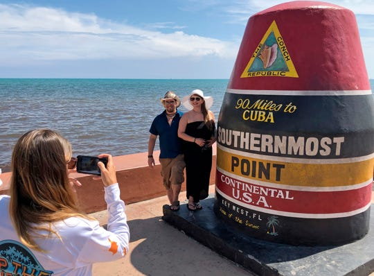 The Florida Keys were removed from Hurricane Dorian's forecast cone over the weekend and officials have welcomed visitors back to the islands off the coast of Miami.