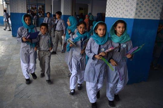 In Kabul, Afghanistan, in July 2019.