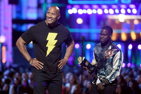 Dwayne Johnson and Kevin Hart have starred together in three films, and Hart made an appearance in Johnson's latest,