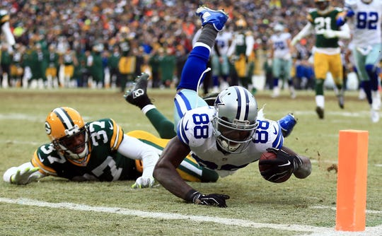 The Dez Bryant play in the 2014 NFC divisional playoff against the Packers remains controversial to this day.
