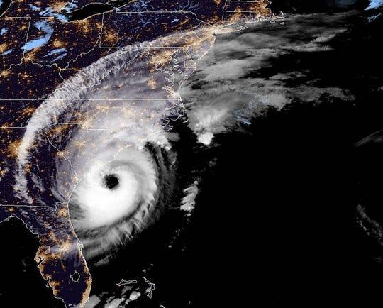 Hurricane Dorian at 5 a.m. Sept. 5.