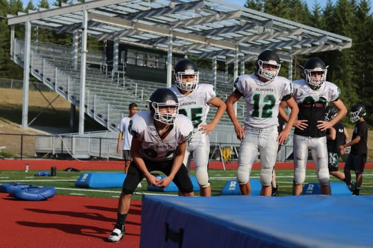 Klahowya's football team will play games on campus for the first time in school history this fall.