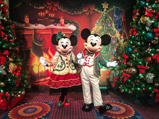 Mickey and Minnie started celebrating the holidays at Walt Disney World beginning Nov. 8.