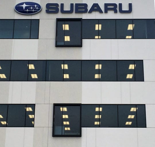 Camden-based Subaru of America has reported its best-ever monthly sales results.