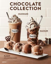 The Chocolate Collection, including a chocolate flight, is available until November at Häagen-Dazs.