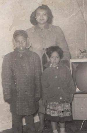 Beatrice Caraballo's mother, Doña Maria Sanabria, sister, Carmen Sanabria and brother, Giffre Sanabria came from Puerto Rico to live in Camden with her aunt Doña Ramona Gonzalez in 1956.