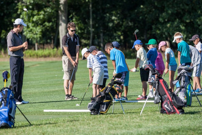The Callaway Golf Learning Center at Neshanic Valley Golf Course in the Neshanic Station section of Branchburg.