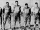 Ted Sloane, Drake, defensive lineman: Sloane was a lineman for the Bulldogs from 1923-25. He earned first team All-American honors in 1925, becoming Drake's first All-American. Sloane was widely considered one of the toughest players in school history. Sloane, right, is pictured with four other Drake University seniors in 1925.