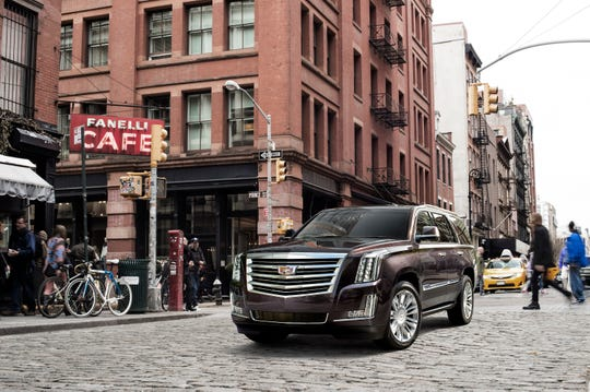 A new version of Cadillac's flagship Escalade SUV is due in 2020 as a 2021 model.