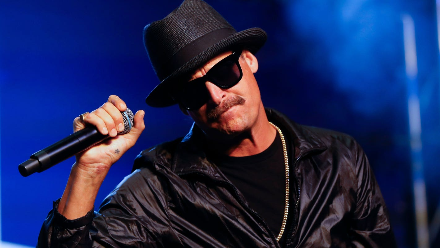 Kid Rock concerts at DTE will be his first homecoming shows in 2 years