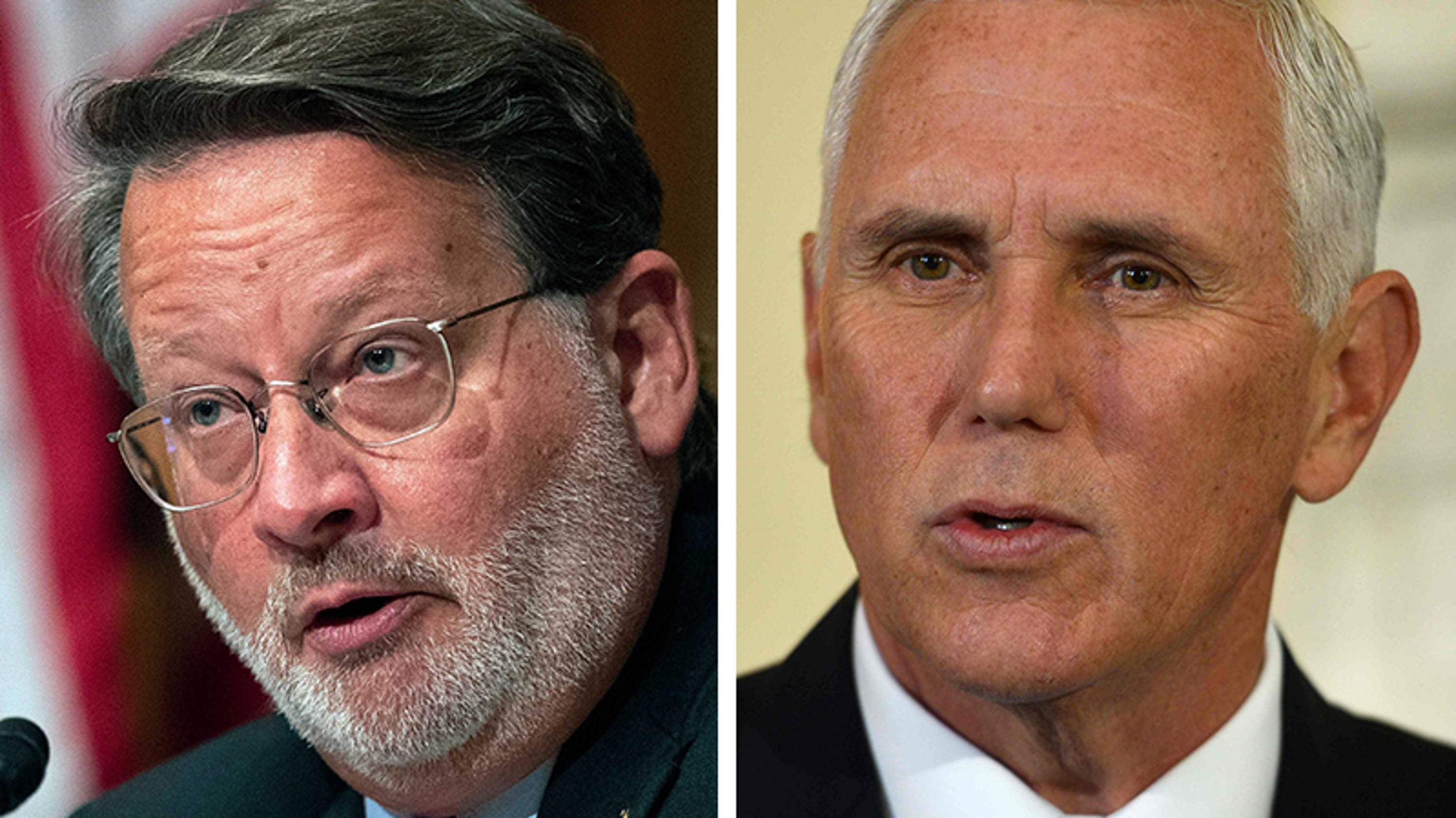 Gary Peters Questions Mike Pence On Stay At Trump's