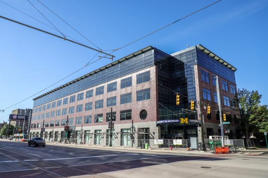 Orchestra Place in Midtown Detroit now has street-level retail space.