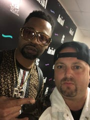 Rapper Juvenile and entertainment manager, Mickey Eckstein.