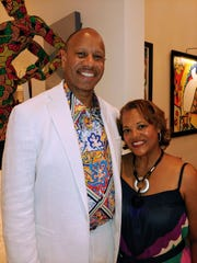 Henry Ford Health System CEO Wright Lassiter and wife, Cathy, host a jazz party at their home.