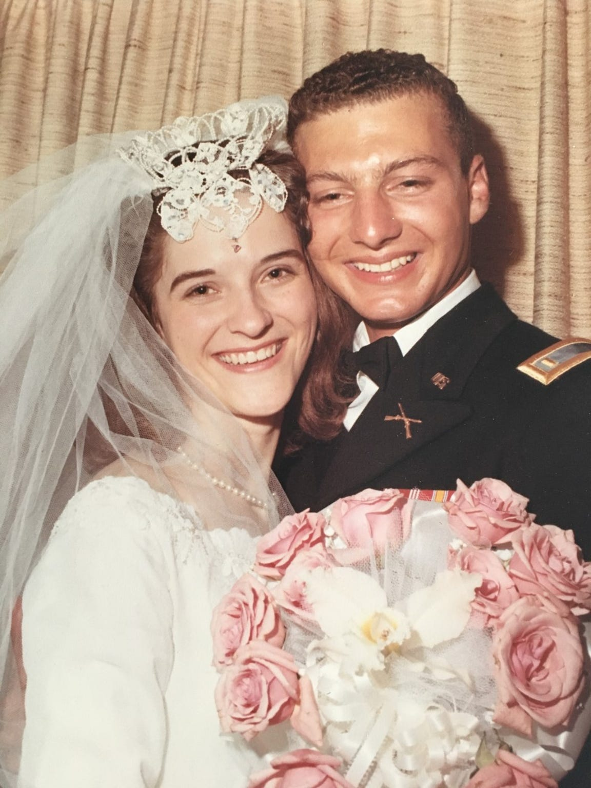 Photo from the wedding of Hattie Ford and her first husband, Deane Taylor, who was killed in Vietnam War.