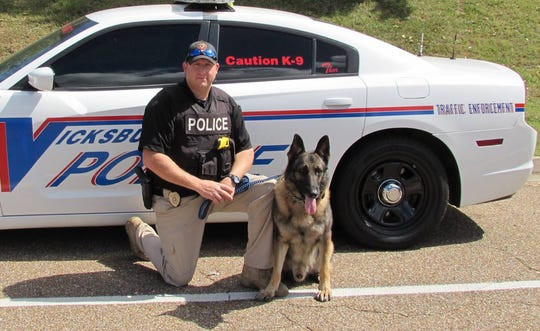 A police dog in Mississippi died after being left in a patrol car on a hot day when the engine quit. The 8-year-old German shepherd was named Thor.