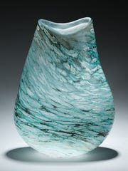 Glass artist Matthew Richards of Perrysburg, Ohio will be one of the artists selling their wares at the Birmingham Street Art Fair Sept. 14-15.