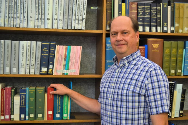 John Ransom first became involved with the Rutherford B. Hayes Presidential Library & Museums as a volunteer 25 years ago. Today, he serves as the library's head librarian.
