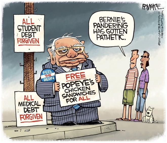 Bernie Panders