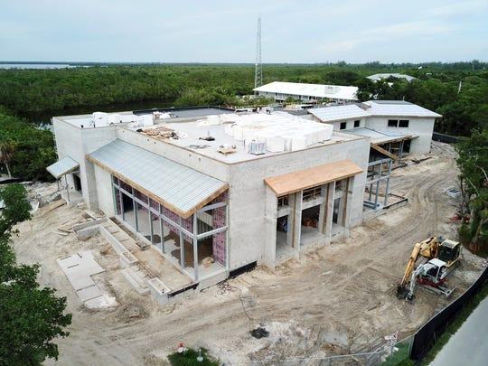 Construction continues on BIG ARTS' new building.