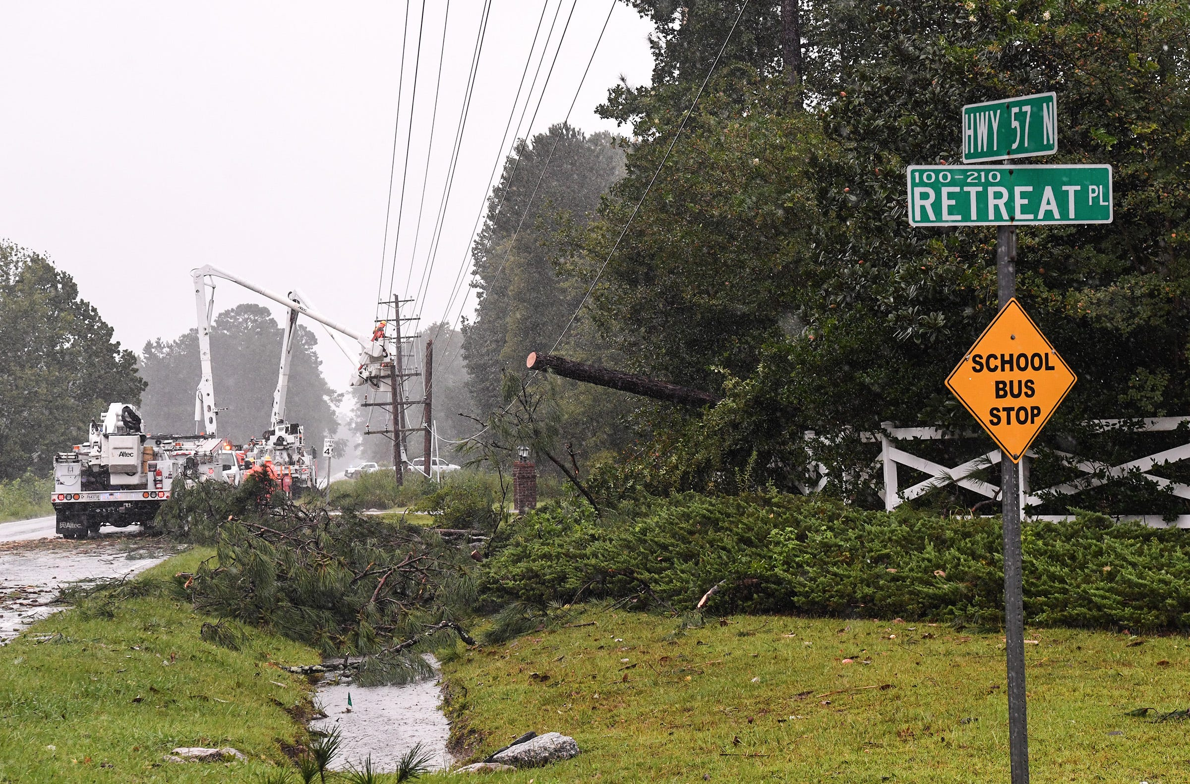 Hurricane Dorian brings rising floods and tornadoes to