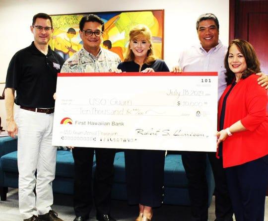 First Hawaiian Bank Becomes USO Guam 2019 Silver Sponsor
