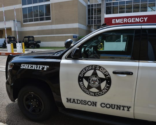 Authoritieswere negotiating with a reportedlysuicidalman who had barricaded inside hisMadison home on Saturday afternoon, Madison County Sheriff's Department spokesman Heath Hall said.