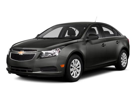 TBI Special Agents are searching for the driver of a 2014 four-door metallic gray Chevy Cruze similar to that shown in this stock photo. The vehicle has a Tennessee license plate '487PWZ.'