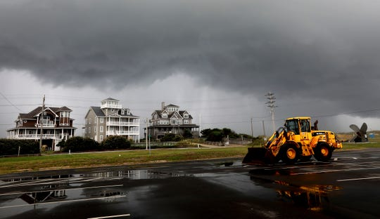 Hurricane Dorian: What it looks like in Cape Hatteras, Outer