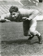 Tennessee guard and Central High product Bob Suffridge, 1938-1940, is reputedly the best at his position the South has produced. He was consensus All-American in 1940 and the Vols were 30-0 during his career.