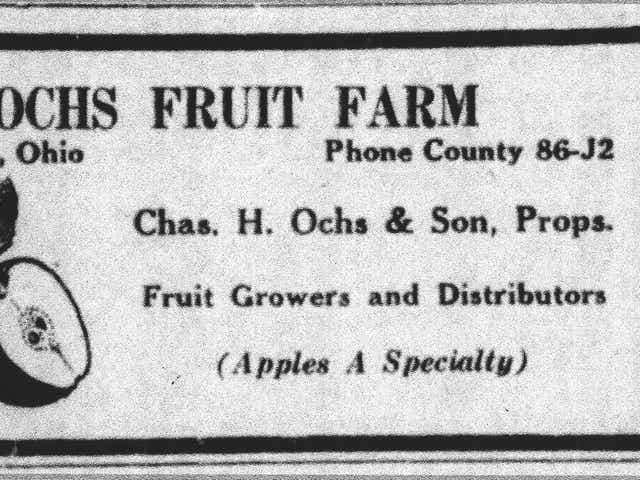 Remember When The Ochs Family S Fruitful History