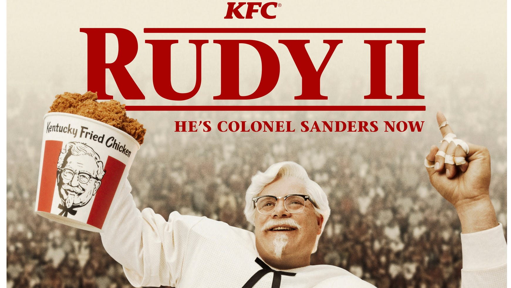 Celebrity In New Kfc Christmas Commercial 2020 Rudy is back! KFC picks title character actor to play Colonel Sanders