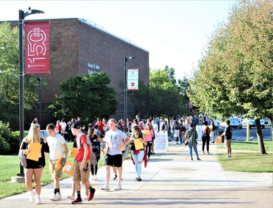 The Ohio State University at Marion welcomed 1,275 students to campus for the beginning of the fall term. Officials said that figure amounts to an increase of 1.8 percent over the fall term of 2018. The student population at Marion includes residents of 53 of Ohio's 88 counties.