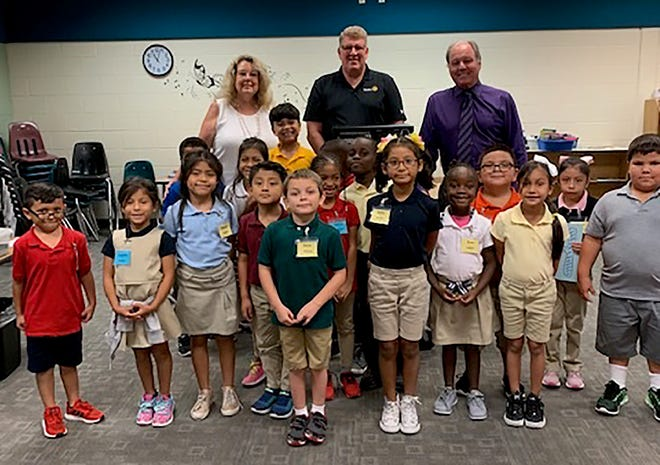 Sunrise Rotary  of Marco Island Sunrise approved a grant request for Manatee Elementary.