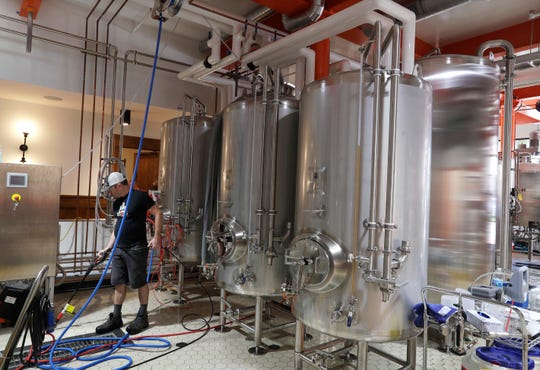 Indeed Brewing's Milwaukee brewery and taproom includes a 10-barrel brewhouse.