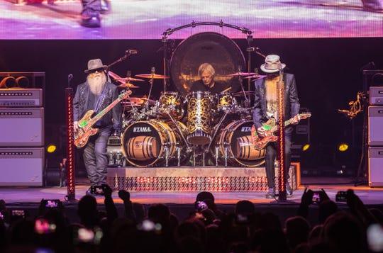 ZZ Top played the BMO Harris Pavilion on Sept. 4, 2019 as part of their 50th anniversary tour.