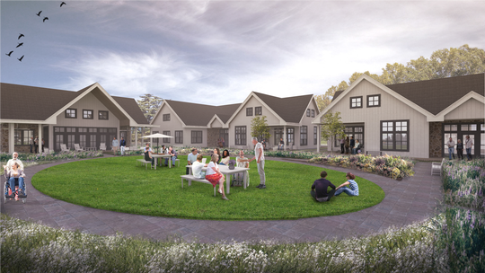 Kelly Homes is partnering with St. Coletta of Wisconsin to create Grace Landing at 16760 W. North Ave. Pictured is a rendering of the community based residential facility proposed in Brookfield.