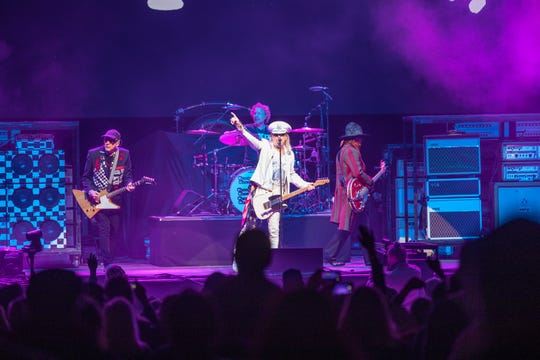 Cheap Trick opens for ZZ Top at the BMO Harris Pavilion on Sept. 4, 2019.