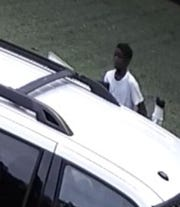 Montgomery police are looking for this man in a burglary case.