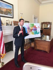 Secretary of State John Merrill held a press conference Thursday to announce the runoff between Steven Reed and David Woods would be monitored after complaints about the primary election.