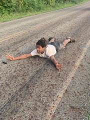 Edmon Simmons, 18, of Nashville, laid on the ground until law enforcement arrived. He emerged from the woods onto Mt. Pleasant Road after an hours-long, multi-agency search in Kingston Springs on Tuesday, Sept. 3.